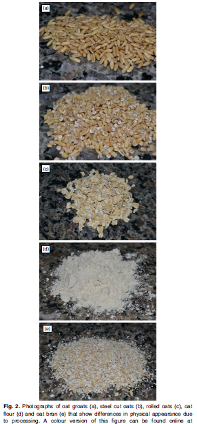 Types of Processed Oats
